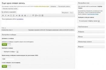 Customizr - одиночная запись wordpress